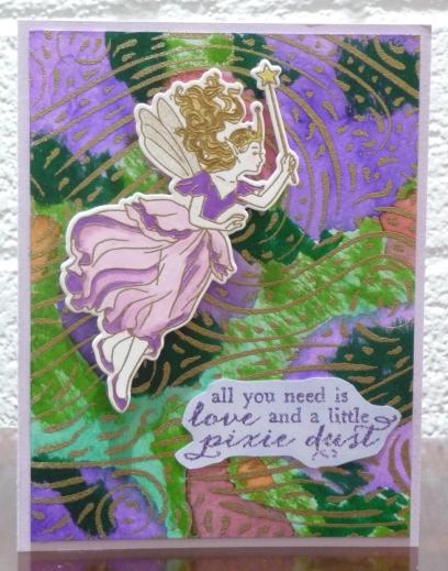 3-17-19 Embossed Fairy