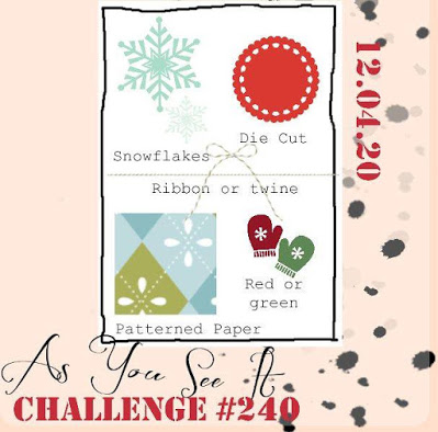 as you see it challenge 240 1