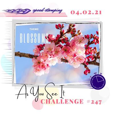 challenge 247 blazing blossoms 1